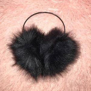 Faux fur ear muffs!!